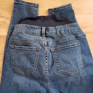 Old Navy Jeans - Old Navy Rockstar Maternity Jean's Full Panel